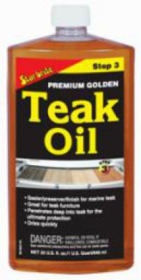 Premium Teak Oil 1000 ml - Greek/Turkish