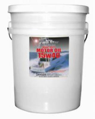 Super Prem HD Motor Oil SAE 15W 40  5 Gal.