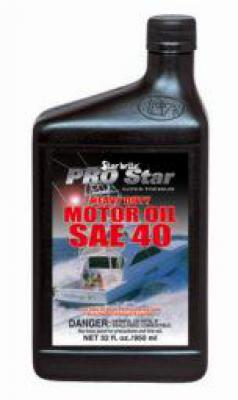 Super Prem HD Motor Oil SAE 40  32 oz.