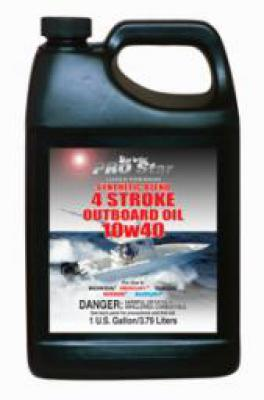 Super Prem Synthetic 4 Stroke O/B Oil 10W 40  Gal.