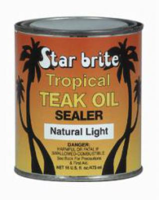 Tropical Teak Oil/Sealer Light 500 ml - Europe
