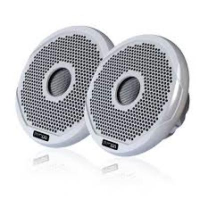 "Shallow Mount 6"""" Marine Speaker Pair - White"