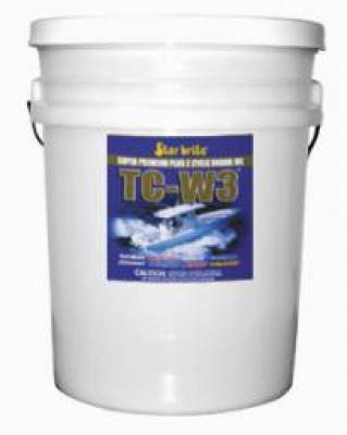 * Super Premium 2-Cycle Engine Oil TC-W3  5 Gal.