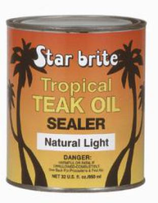 Tropical Teak Oil/Sealer Light 1000 ml - Europe